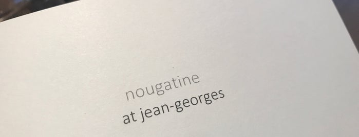 Nougatine Terrace At Jean-Georges is one of Seafood Sensations ⚓️.