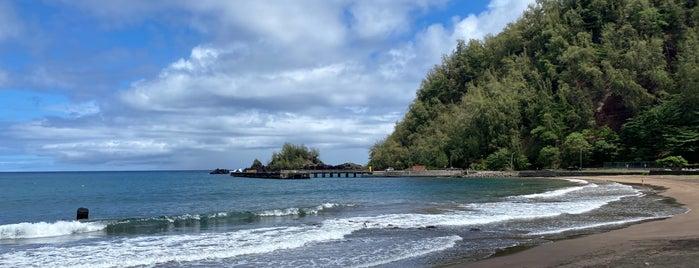 Hana Beach Park is one of Maui.