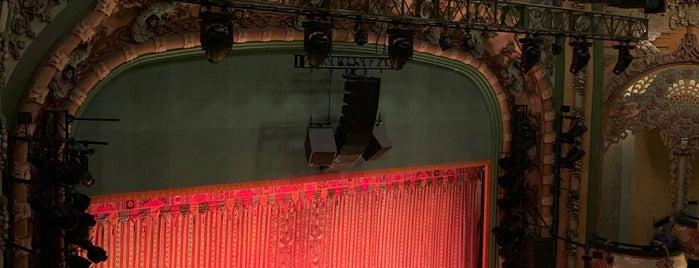 Aladdin @ New Amsterdam Theatre is one of สถานที่ที่ Terecille ถูกใจ.