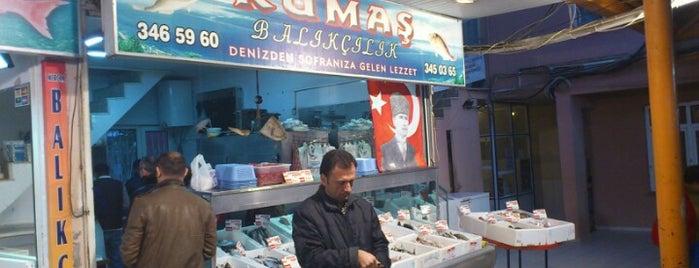 Kumaş Balıkçılık is one of Lieux qui ont plu à Ünsal.