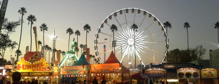 L.A. County Fair is one of Tempat yang Disimpan Ms. Treecey Treece.