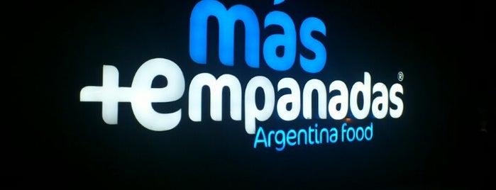 Más Empanadas is one of restaurantes.