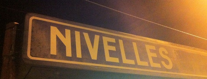Gare de Nivelles is one of Anthony : понравившиеся места.