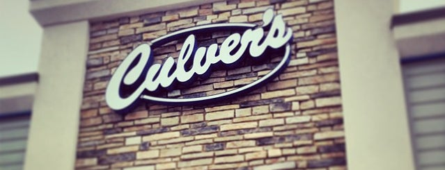 Culver's is one of Lugares favoritos de Kimberly.
