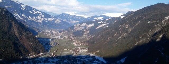 Ahorn is one of Zillertal.