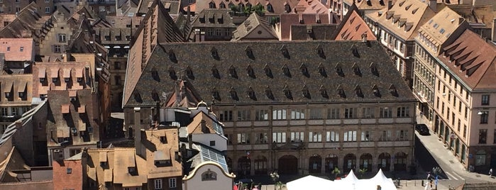 Plate-forme panoramique de la Cathédrale is one of Strasbourg favorites.