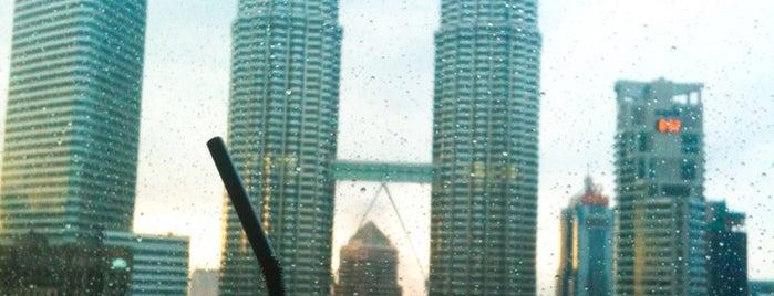 SkyBar Kuala Lumpur is one of Jas' favorite urban sites.