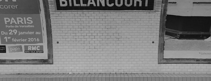 Métro Billancourt [9] is one of Went before.