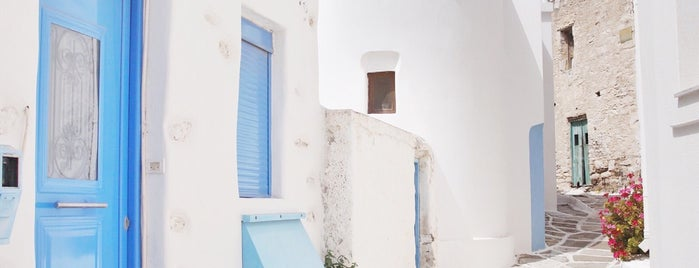 SU Lists Summer '18: Blue & White in the Cyclades