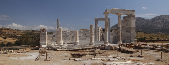 Temple of Demeter is one of Greece, Cyclades favorites so far.