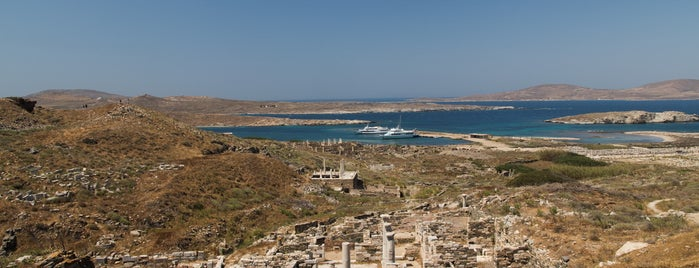 Delos is one of SU Lists Summer '18: Blue & White in the Cyclades.