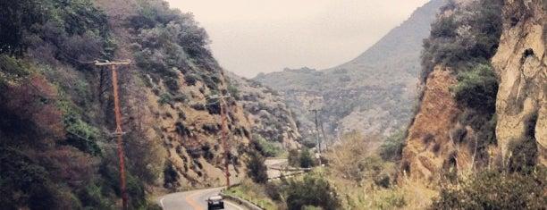Topanga Canyon is one of LA.