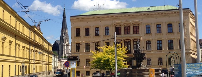 Náměstí Republiky is one of Experience Olomouc like a locals!.