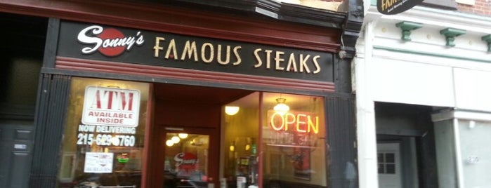 Sonny's Famous Steaks is one of Diners Drive-Ins and Dives & Roadfood.