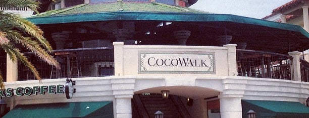 CocoWalk is one of Miami / Ft. Lauderdale.