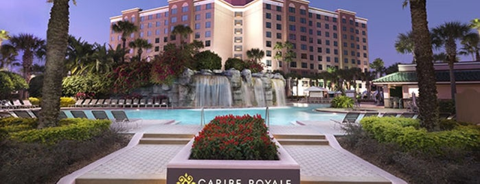 Caribe Royale All-Suite Hotel & Convention Center is one of aTyler 님이 좋아한 장소.