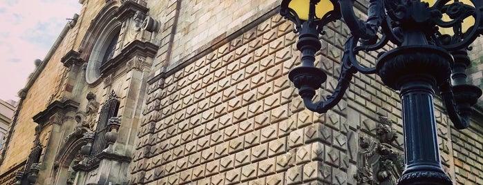 Iglesia Belen is one of lugares donde me siento bien LA BARCELONA OCULTA.