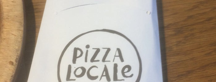 Pizza Locale is one of Tempat yang Disukai Oktunç.