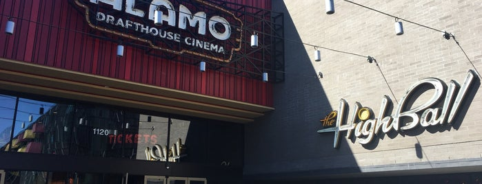 Alamo Drafthouse Cinema is one of Tour of Austin and Central Texas.