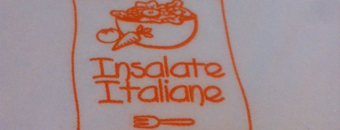 Insalate Italiane is one of Cena, dinner, dîner, abendessen.