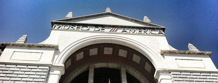 Museo de América is one of Gespeicherte Orte von Rebeca.
