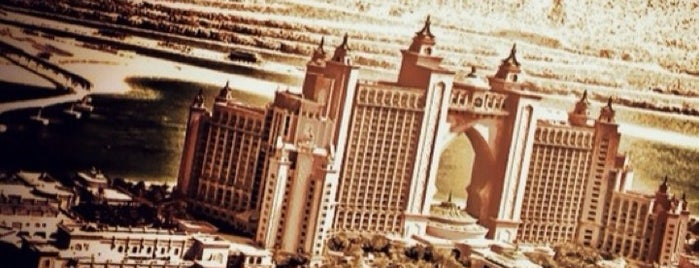 Atlantis The Palm is one of Nidal´s Dubai Highlights.