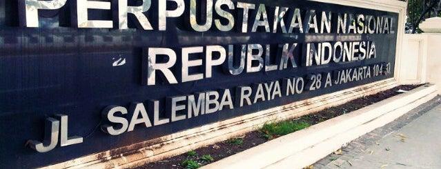 Perpustakaan Nasional RI is one of Jakarta To Do.