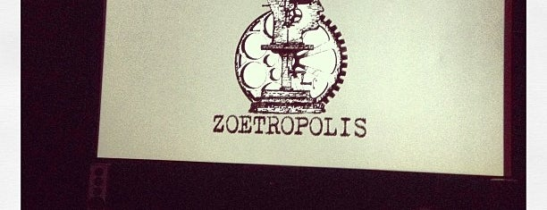 Zoetropolis Art House and Theater is one of Lugares guardados de Chrissy.