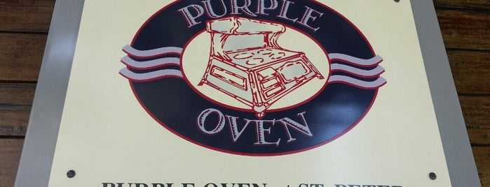 Purple Oven is one of Hannah Jade 님이 저장한 장소.