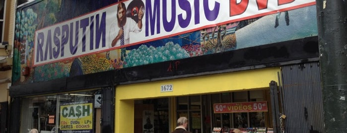 Rasputin Music is one of Record Shops.