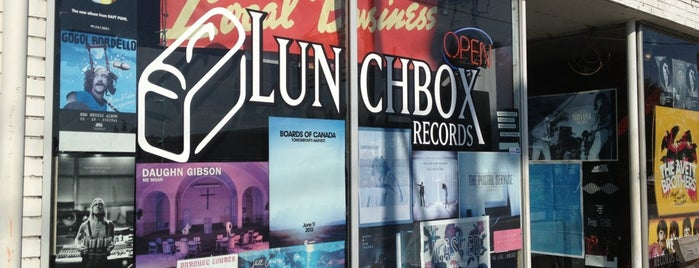 Lunchbox Records is one of Creative Loafer - Level x10.