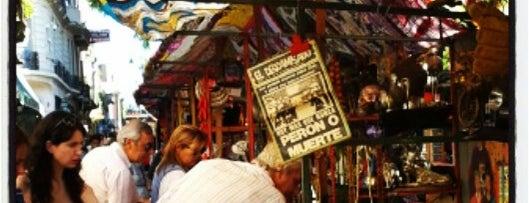 Feria de San Pedro Telmo is one of Buenos Aires.