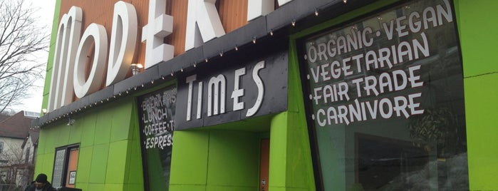 Modern Times Cafe is one of places I want to try.