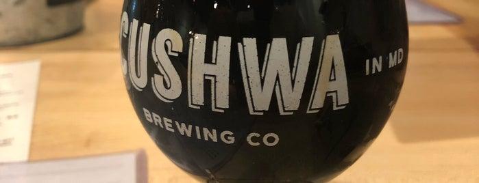 Cushwa Brewing Company is one of Orte, die Cole gefallen.