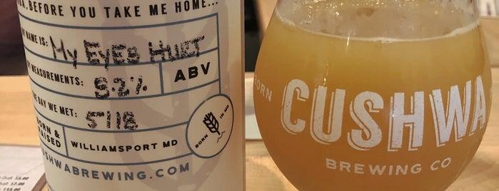 Cushwa Brewing Company is one of Tempat yang Disukai Cole.
