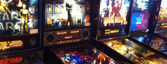 Pizza West is one of Pinball Destinations.