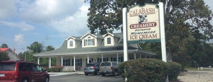 Calabash Creamery is one of Tempat yang Disukai Elena.