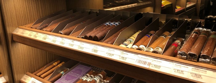 Davidoff of Geneva is one of Stevenson's Top Cigar Spots.