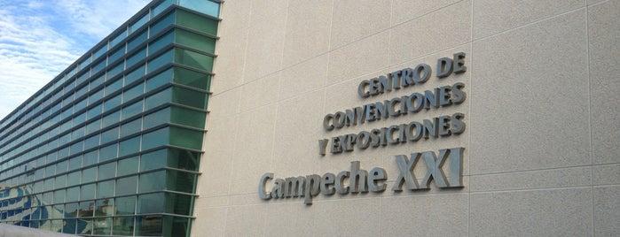 Centro De Convenciones Campeche XXI is one of Tempat yang Disukai Fer.