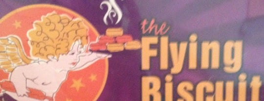 The Flying Biscuit Cafe is one of PTC Eats.