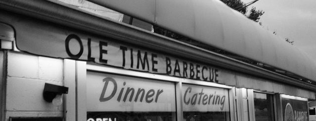 Ole Time Barbecue is one of Try it.