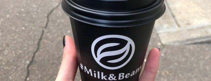 Milk & Beans is one of Кофейни из Кофейной карты Москвы.