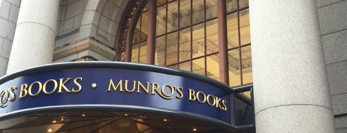 Munro's Books is one of Victoria.