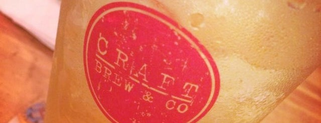 Craft Brew & Co. is one of Craft Beer in Hong Kong.