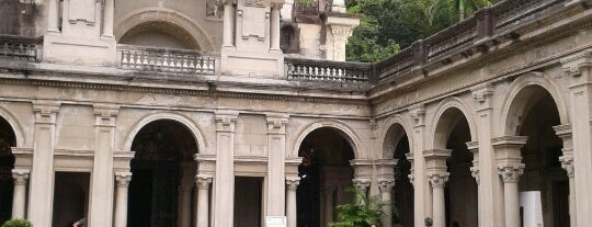 Parque Lage is one of South America.