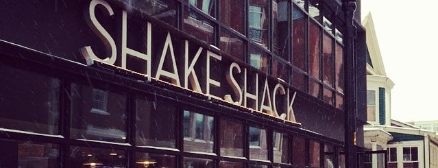 Shake Shack is one of Boston in the fall!.