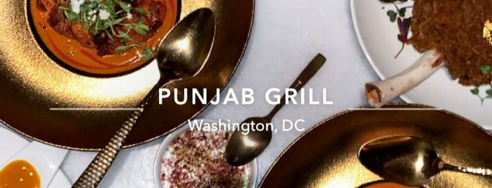 Punjab Grill is one of DC Places.