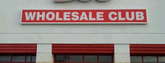 BJ's Wholesale Club is one of DE, PA, MD.