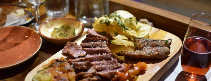 Lobos Meat and Tapas is one of New London Openings 2015.