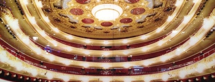 Liceu Opera Barcelona is one of Mediterranean Excursion.